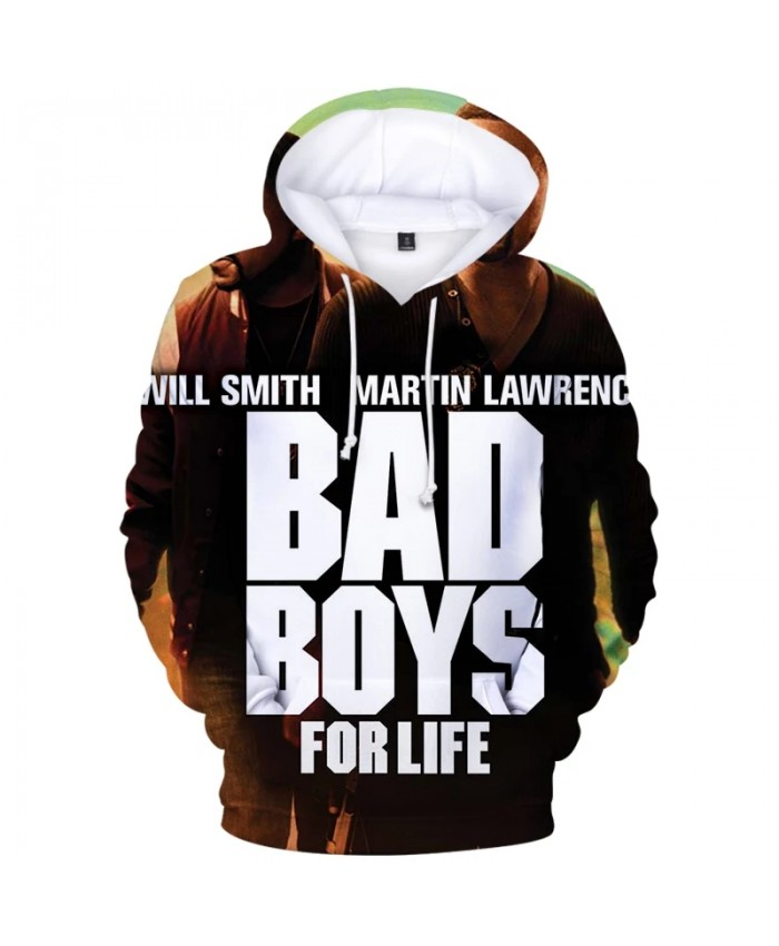 Bad Boys For Life Streetwear 3D Sweatshirts Boys Girls Printing Harajuku Hoody Sportswear Autumn Women men Pullovers Hoodies