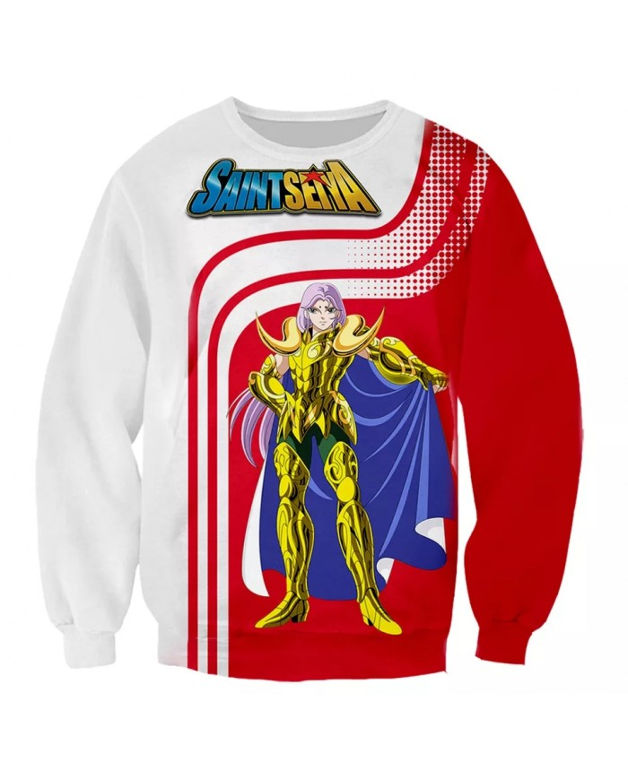 Saint Seiya 3D  print men women fashion cool Long Sleeves sweatshirt harajuku style street styles tops