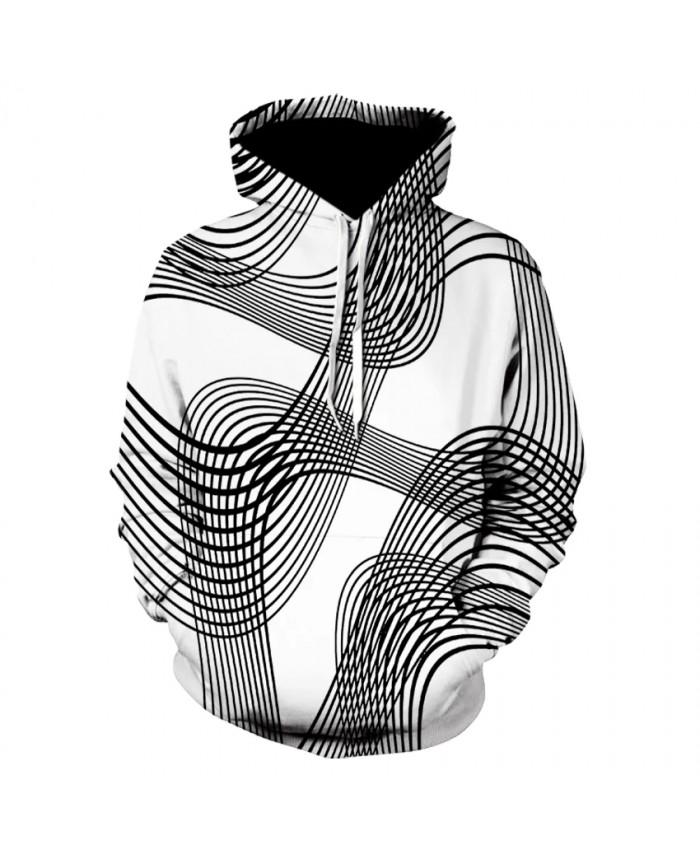 2021 men's casual long-sleeved thin print hoodie sweatshirt fashion slim curve hoodie for men and women