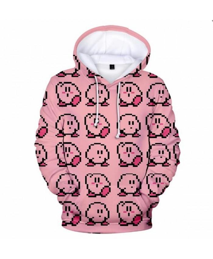 Cute Casual Hip Hop New Fashion 3D Sweatshirt Game Kirby Hoodies Autumn Boys Men Girl Women Harajuku Comfortable Kirby 3D Hooded
