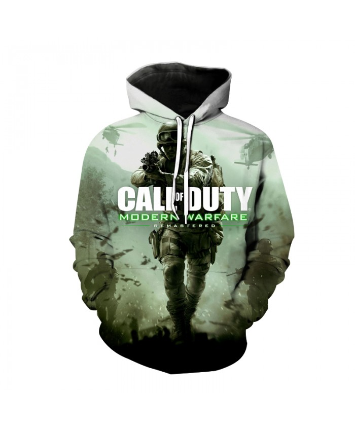 Call Of Duty 3D Print Hoodies Modern Warface Ghost Sweatshirt FPS Shooting Game Casual Fashion Hoodie Men Women Hip Hop Pullover