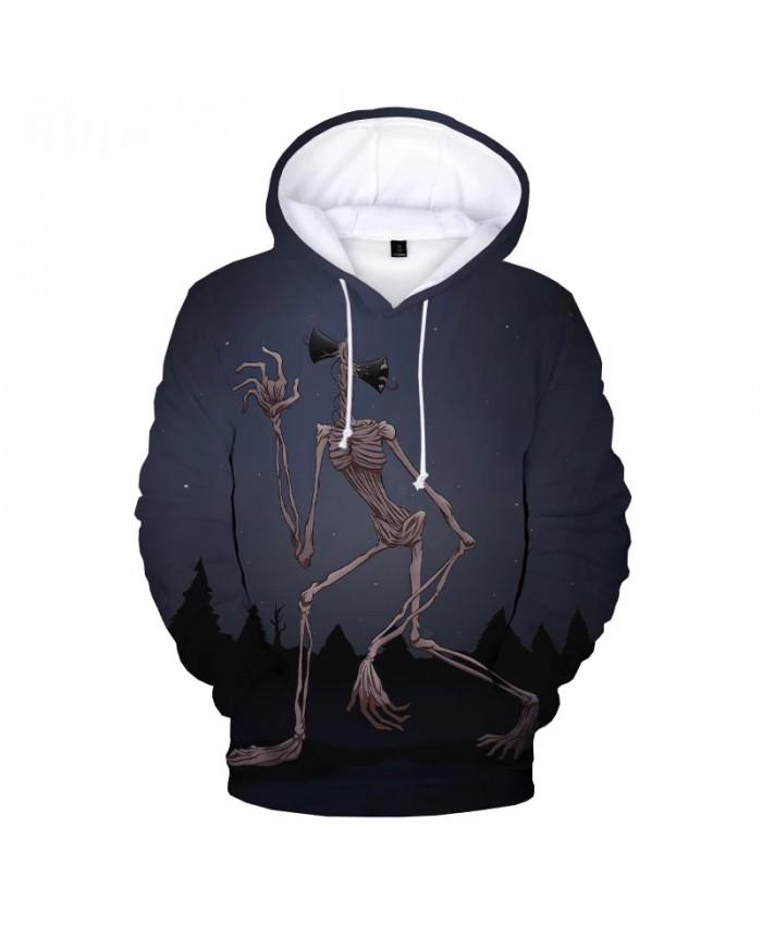 Siren Head 3D Print Hoodie Sweatshirts Men Women Harajuku Streetwear Horror Game Hoodies Kids Fashion Casual Cool Pullover