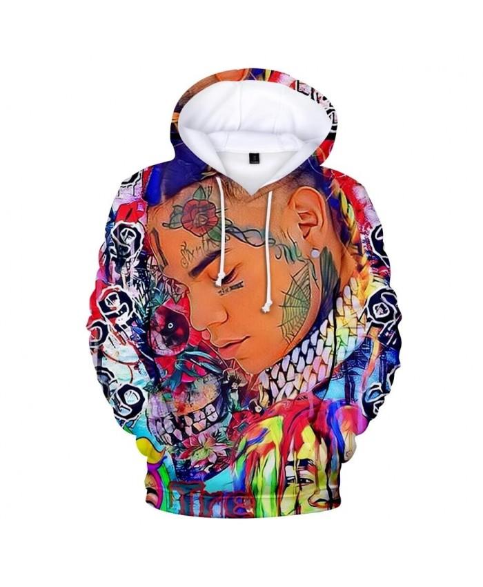 3D Hoodies Print 6IX9INE Hoodie Men Sweatshirt Women Harajuku pullovers Kids Casual Hot sale 6IX9INE boys girls 3D Hoodies