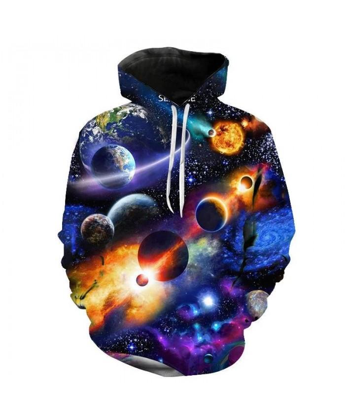 3D Printed Universe Starry Sky Astronaut Hoodies Men Women Children Long Sleeve Sweatshirt Coat Cool Fashion Streetwear Pullover