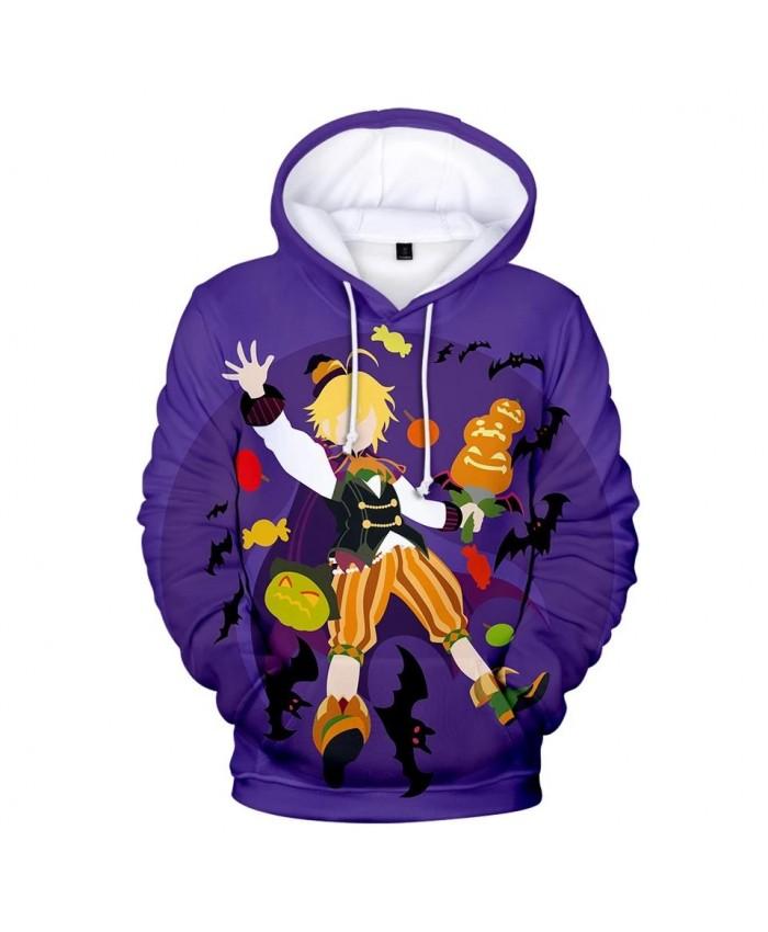 Purple 3D meliodas boys girls Hoodies Sweatshirt Fashion Comfortable Men women Autumn Harajuku 3D Hoodie casual kids pullovers