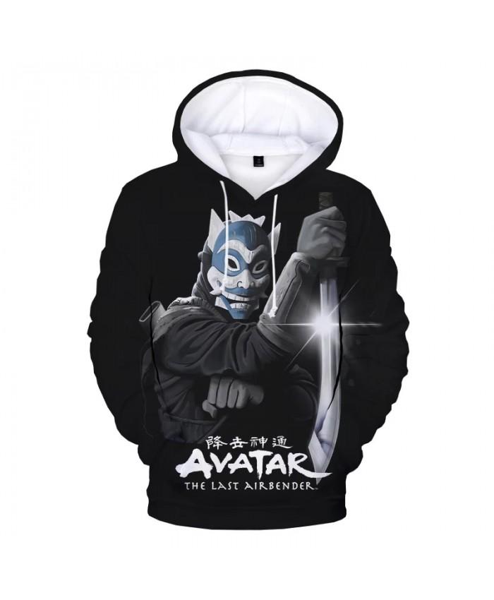 Avatar The Last Airbender 3D Print Hoodie Sweatshirts Men Women Fashion Casual Cartoon Pullover Harajuku Streetwear Cool Hoodies
