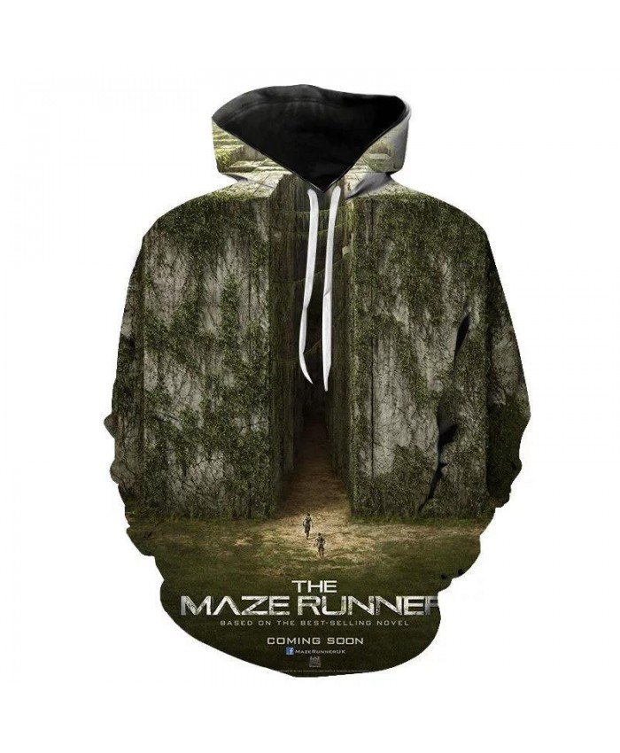 PLstar Cosmos brand Movie The Maze Runner New 3D printed hoodies loose thin hoodie men women fashion casual sweatshirt Cool Tops