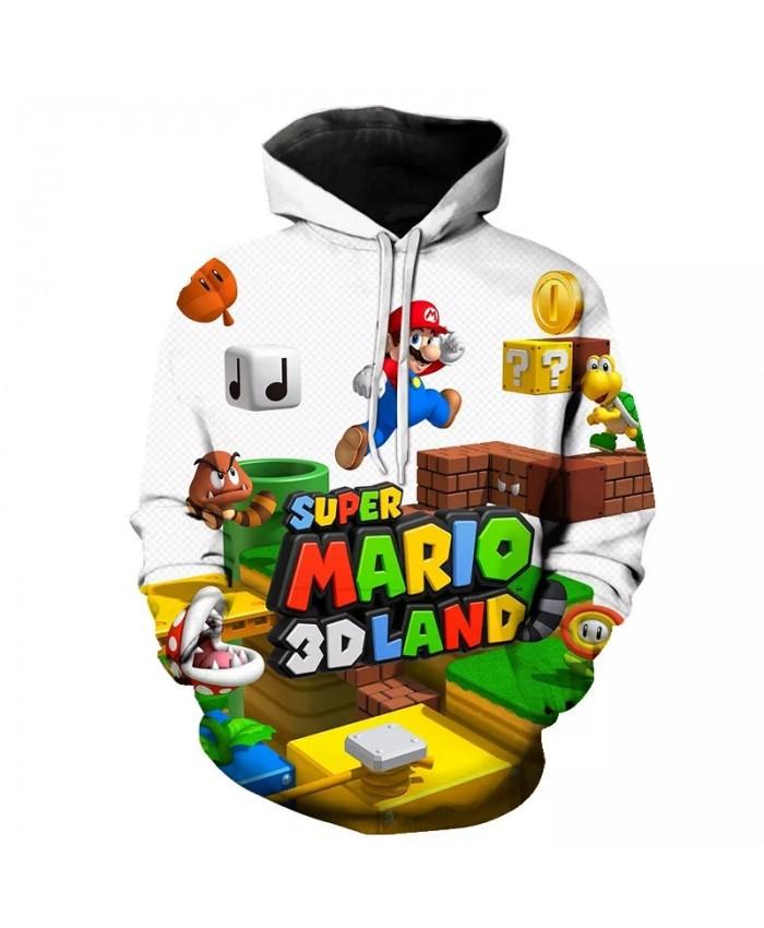 Hip Hop Graffiti Hoodies Mens Autumn Casual Pullover Sweats Hoodie Male Fashion Sweatshirts off white Mario hoodies