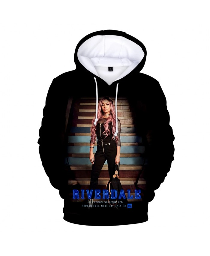 Print TV series Riverdale Riverdale 3D Hoodies Men Women 3D Hoodes children Sweatshirts Casual boys girls Riverdale pullovers