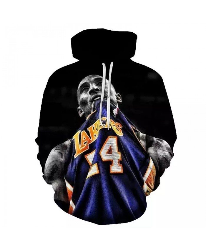 High Quality Fashion Popular 3D Printed Hoodies Basketball stars are printed on it For Men Discount Stylish Casual Hoodies
