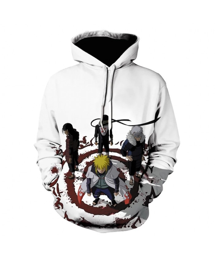 2021 Fall Naruto Anime Men's And Women's Hoodie Pullover 3d Printing Ninja Uchiha Sweatshirt Men's Fall Winter Coat