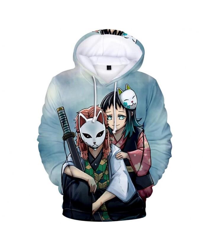 3D printed Kimetsu no Yaiba Hoodies Men Women Sweatshirts Fashion Autumn Kids Hoodie 3D Demon Slayer boys girls Hooded pullovers