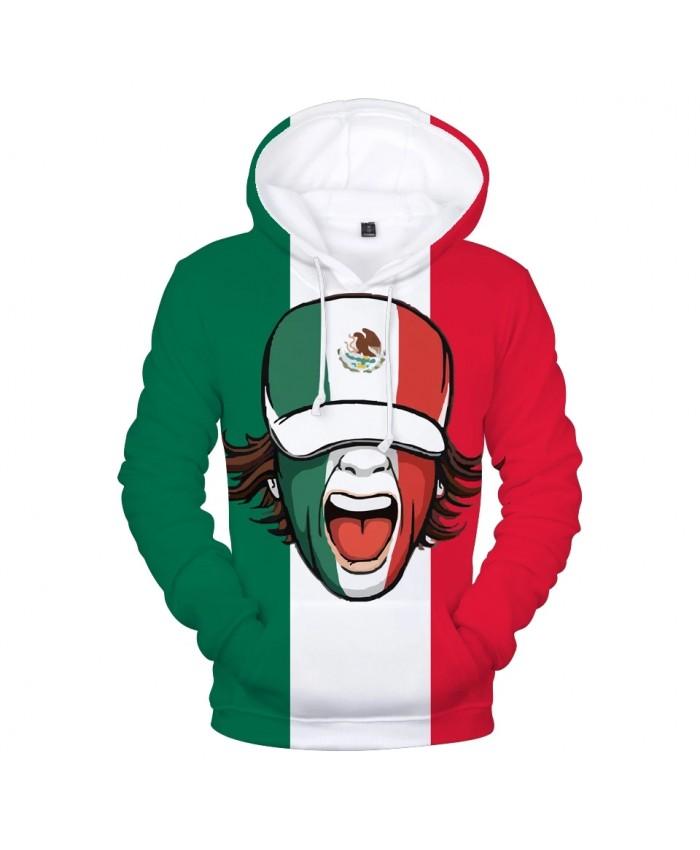 Mexico National Flag 3D Hoodies Men women Fashion High Quality Harajuku 3D Print Mexico National Flag Men's Hoodies