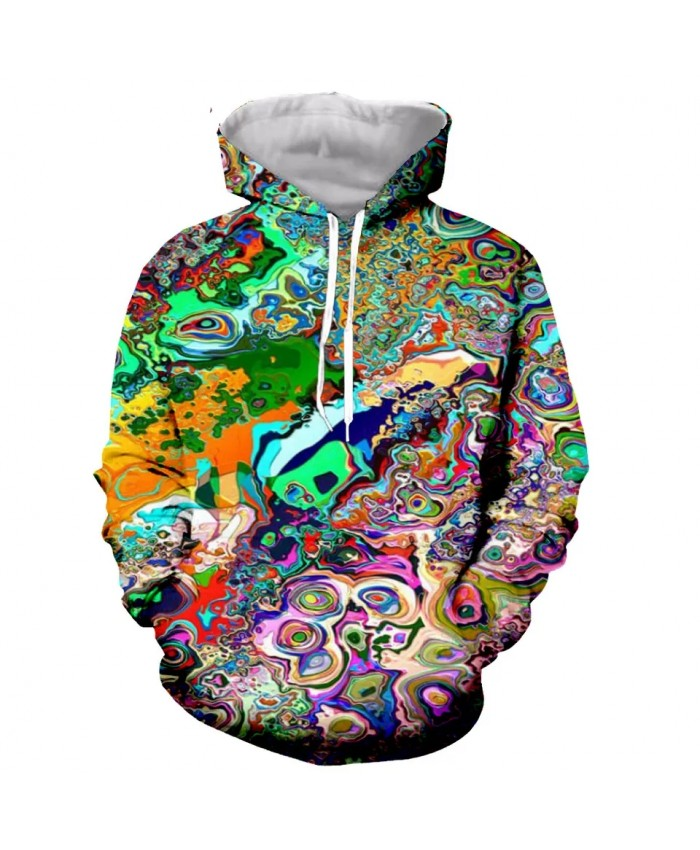 Trippy weeds Fashion Long Sleeves 3D Print Zipper Hoodies Sweatshirts Jacket Men women dropshipping