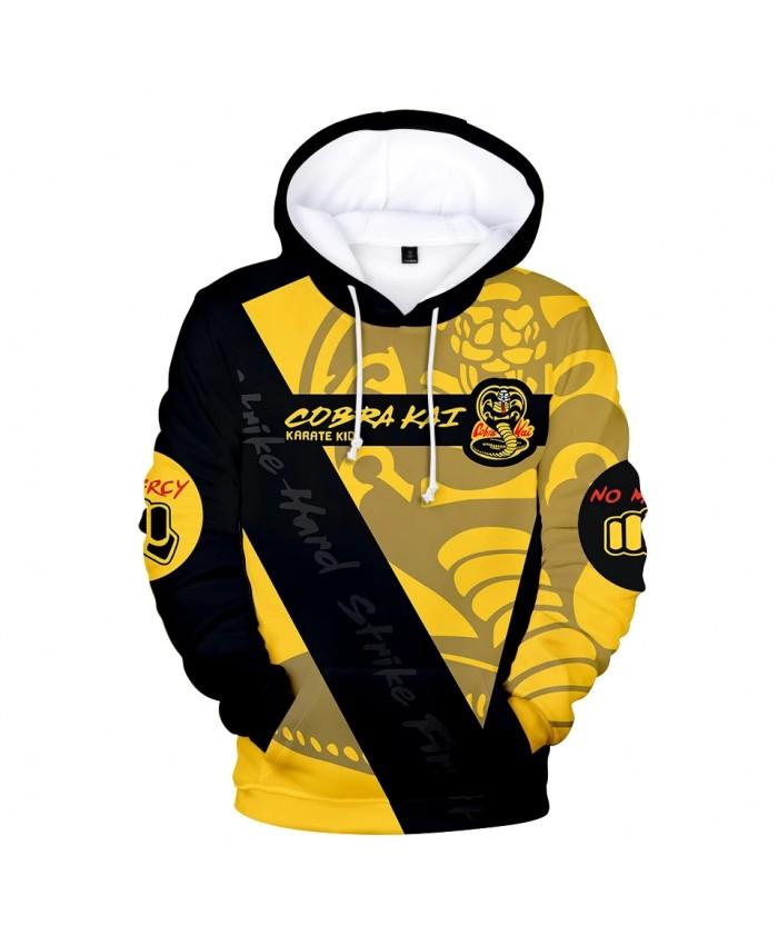 New Print 3D Cobra Kai Hoodies Men Sweatshirts Women Tracksuits Fashion Autumn Harajuku Hoodie Casual Boys Pullovers Streetwear