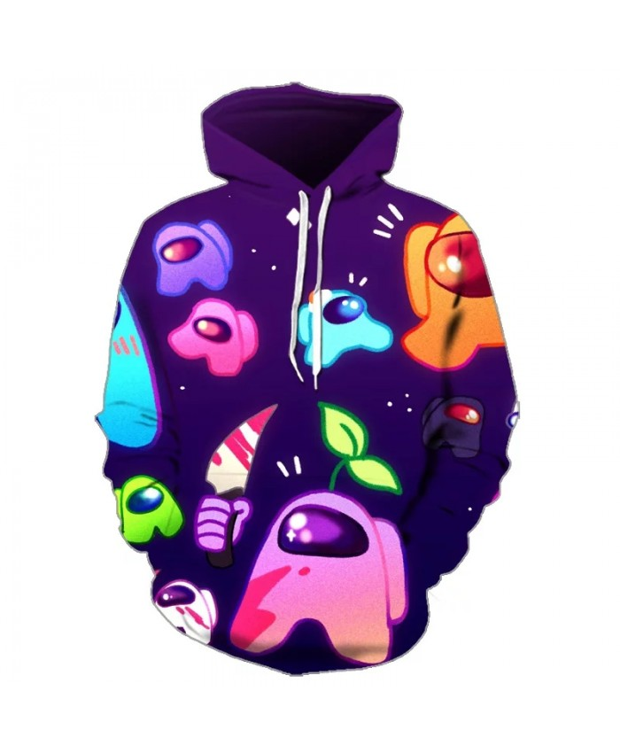2021 Game Among Us 3D Kids Hoodies For Teenagers Oversized Children's Sweatshirt For Boys Girls Sweat Shirt Child Boy Hoodies