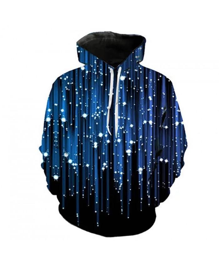 Casual 3D Printed Sweatshirts Coat Boy Girl Kids New Fashion Meteor Shower Hoodies Men Women Children Long Sleeve Cool Pullover