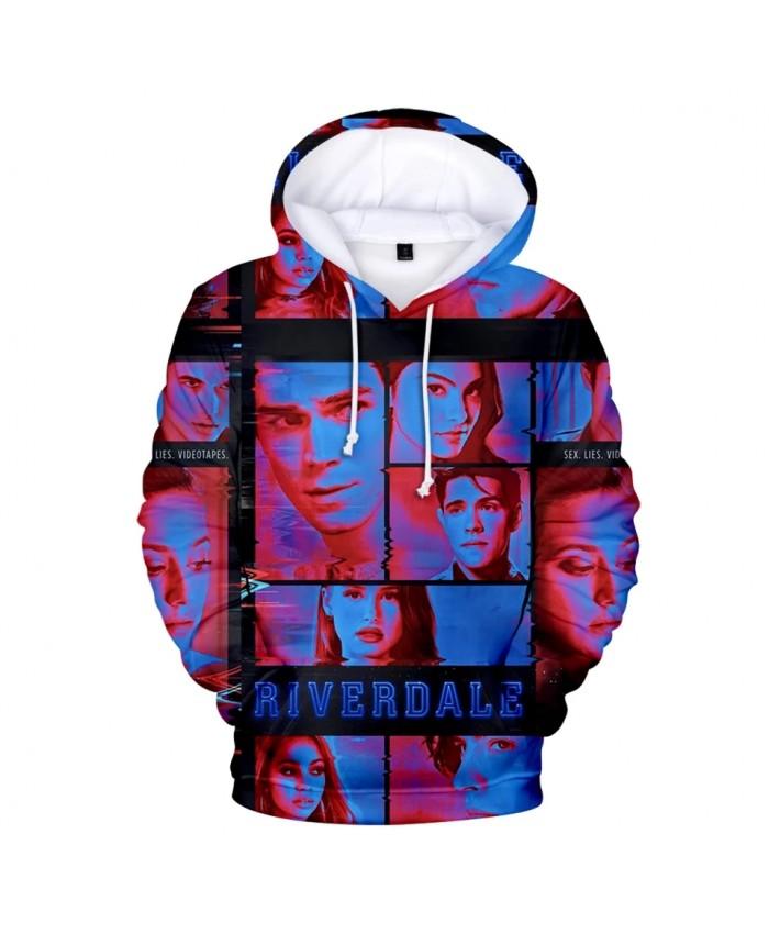 New TV series Riverdale 3D Hoodies Men Women Sweatshirt Kids Streetwear Fashion 3D Full Printed Riverdale boys girls pullovers