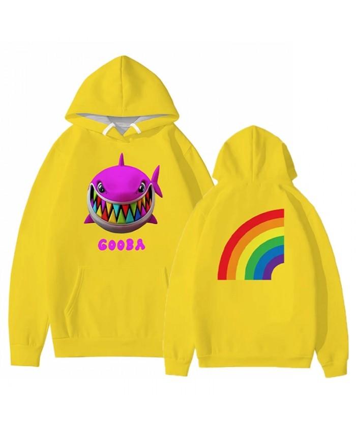 6ix9ine Gooba Rainbow 3D Print Hoodie Sweatshirts Rapper Fashion Casual Hip Hop Pullover Men Women Streetwear Oversized Hoodies