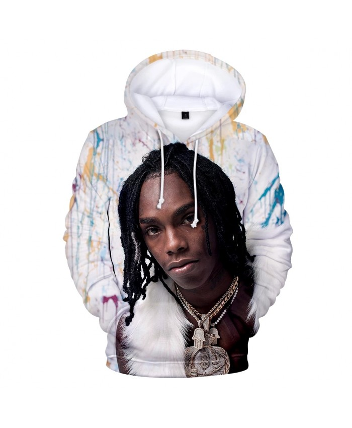 YNW Melly 3D Print Hoodies Fall Winter Men women 2021 New Arrival Casual Fashion Hip Hop Hoodie YNW Melly Men's Pullover Coats