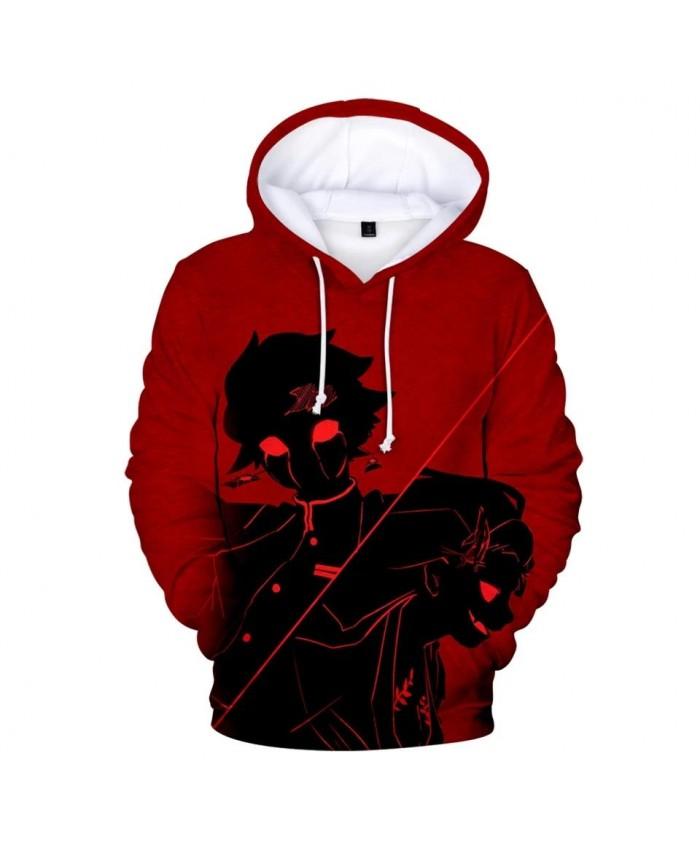 Red Printed Comic Ghost Blade 3D Hoodies Men Women Casual Harajuku children 3D Sweatshirts Fashion boys girls Demon Slayer Hoody