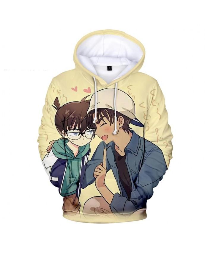 Popular 3D print Detective Conan Hoodies Children Sweatshirts boys girls pullovers Fashion Men women 3D Hooded Autumn kids tops