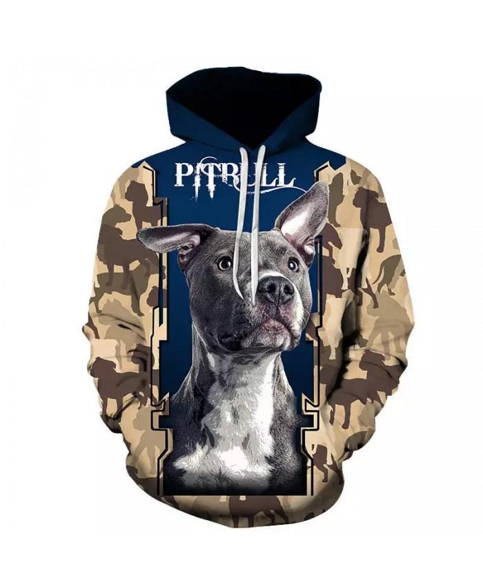 2021 Fashion Animal Dog 3D Print Hoodie Men Women Sweatshirt Dog Designs Hooded Coat