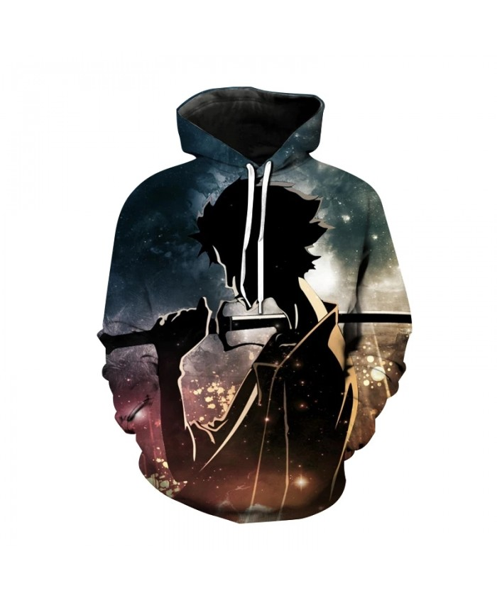 Japanese Samurai 3d Printed Hoodie Anime Harajuku Sweatshirt Men's Women's Children's Autumn And Winter Fashion Hip-hop Caot