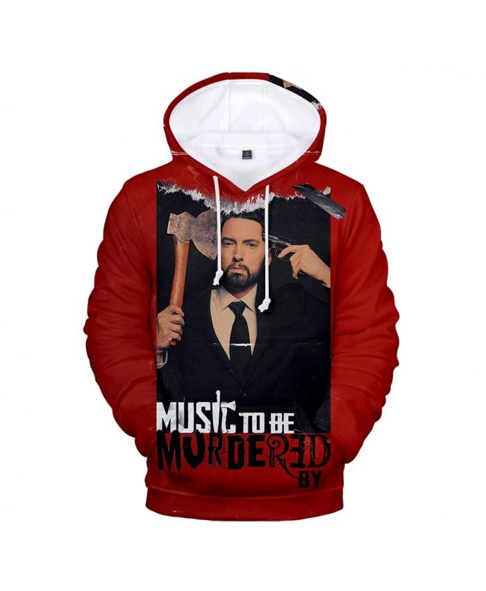 The Newest 3D Eminem Hoodies Long Sleeve Sweatshirts Men Women Hoodie Autumn Kids 3D Eminem Hooded boys girls red pullovers