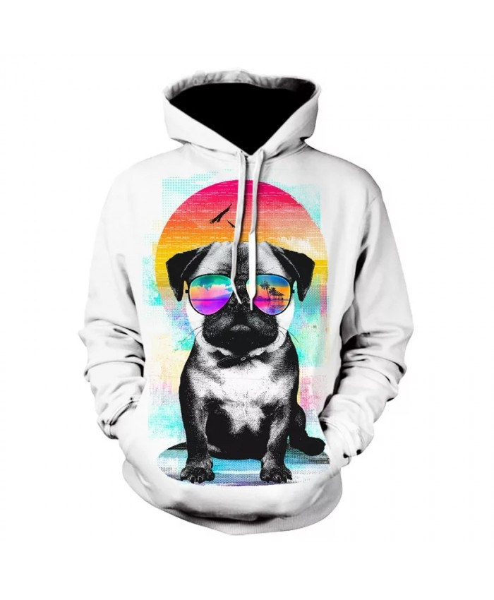 Cool boy 3D printed casual long sleeve hoodie fashion new design for men and women animal dog comfortable hoodies