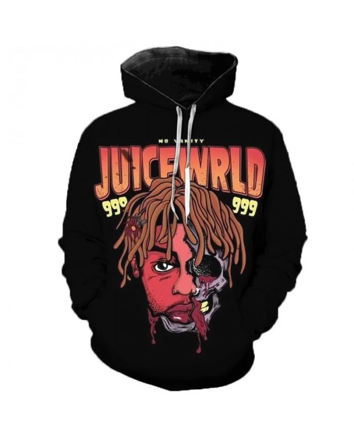 New Rapper Juice Wrld Hoodie Sweatshirts Juice Wrld Memorial Pullover Men Women Hip Hop Singer Fashion Casual Oversized Hoodies