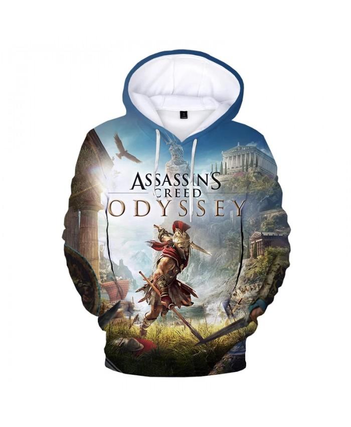 Assassins Creed Odyssey 3D Printed Hoodie Sweatshirts Unisex Fashion Casual Pullover Men Harajuku Street Oversized Hoodies