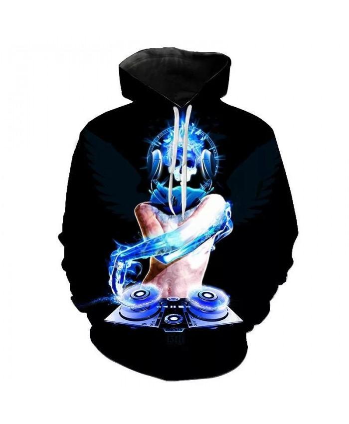 Hot Sales Autumn Winter Sweatshirts Candy Band DJ 3D Digital Printing Hoodies Men Kids Fashion Streetwear Hoodie Casual Jacket