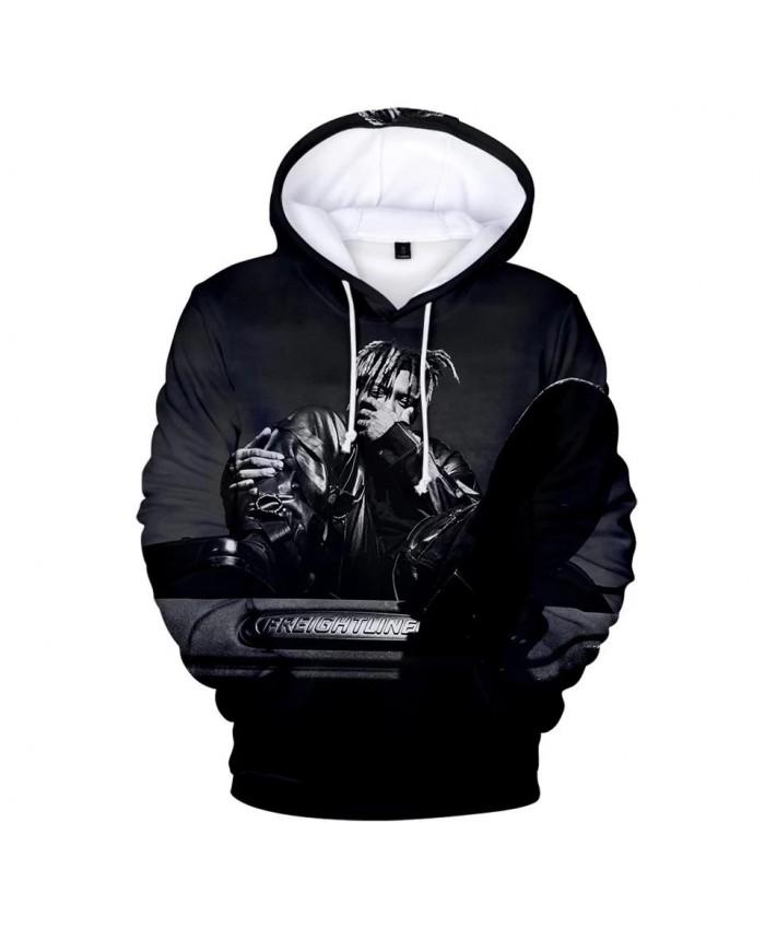 Casual black 3D Juice WRLD Hoodies Men Women Sweatshirts Harajuku Kids Autumn Pullover Fashion 3D Juice WRLD boys girls Hooded