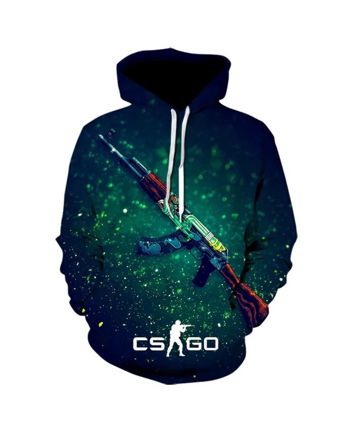 Fashion Men's Game CS GO 3D Printed Hoodie Boy girl Brand Clothing Hooded Sweatshirt Game Cool Jacket Off White Funny Hoodies