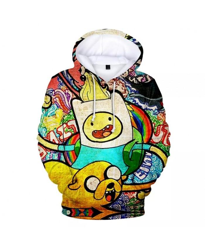 Boys Girls Hoodie Adventure Time Sweatshirts 3D Print Cartoon adventure time cosplay Hoodie Men Women Hip Hop Streetwear