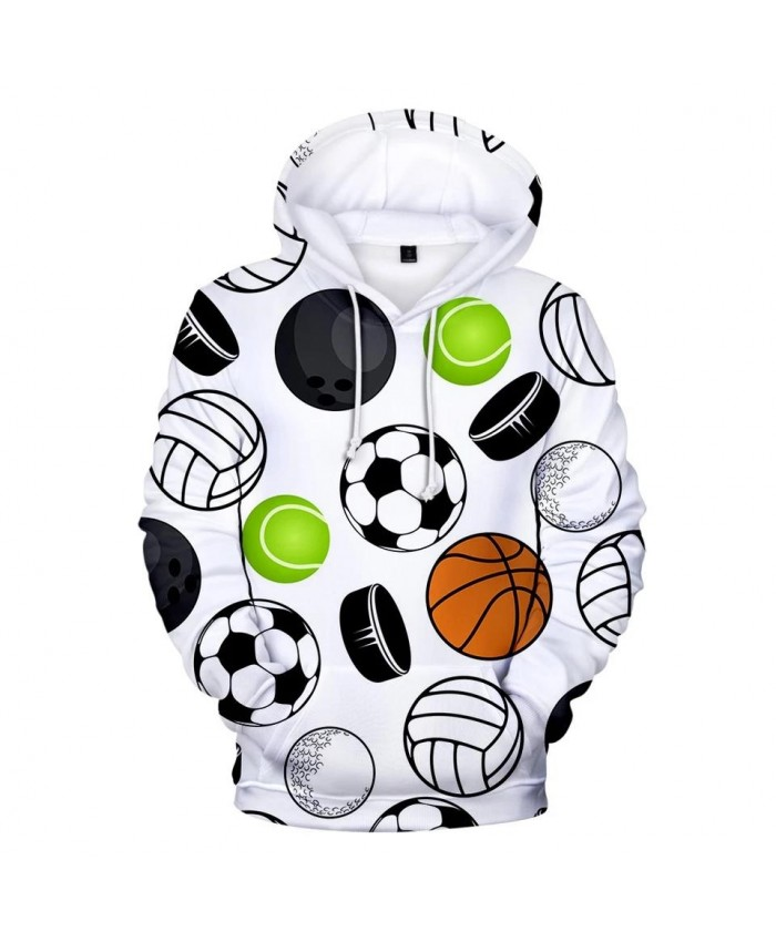 3D print Many kinds of balls Hoodies Men Women Sweatshirts Fashion Kids Hoodie Suitable 3D football soccer boys girls pullovers