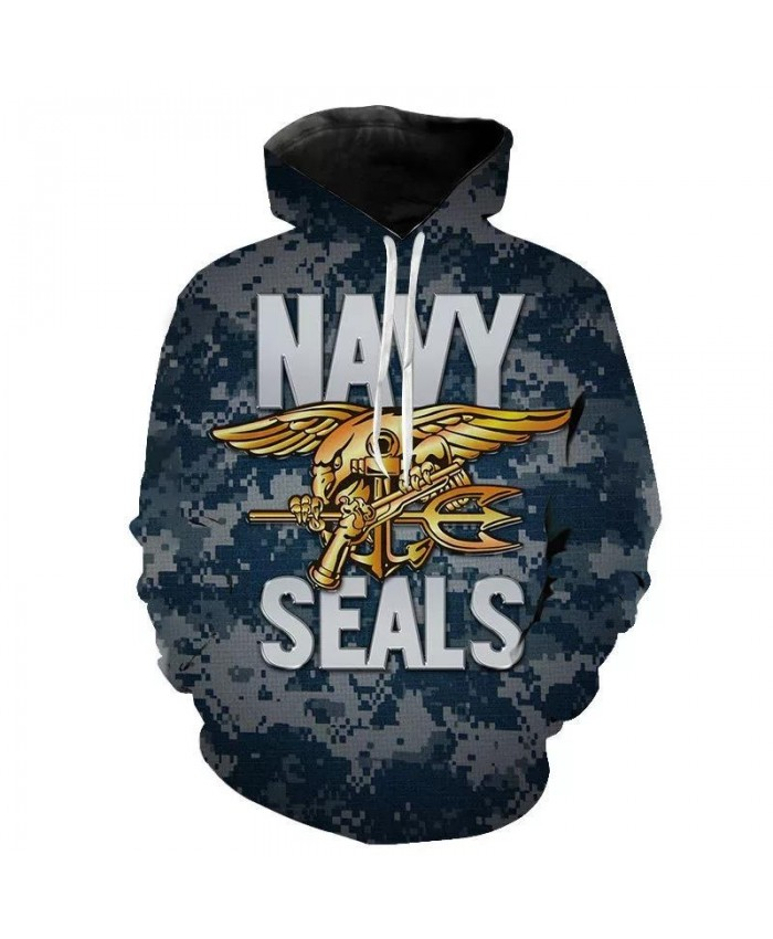 New Cool Navy Seal 3D Printed Hoodies Men Women Children Sweatshirts Pullover Hooded Fashion Casual Boy Girl Clothing Tops