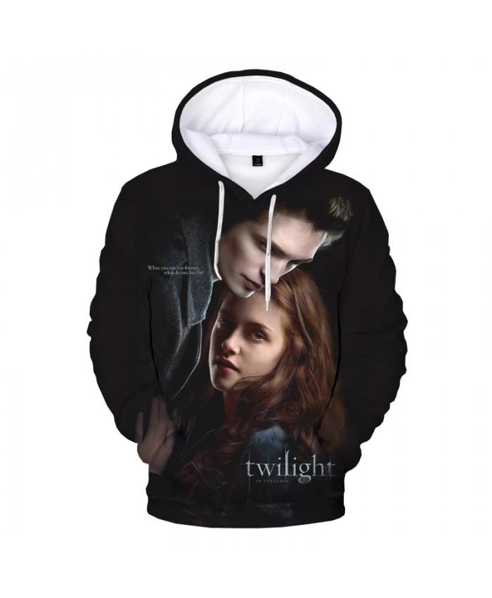 The Twilight Saga 3D Print Hooded Sweatshirts Unisex Harajuku Streetwear Oversized Hoodies Men Fashion Casual Cool Pullover