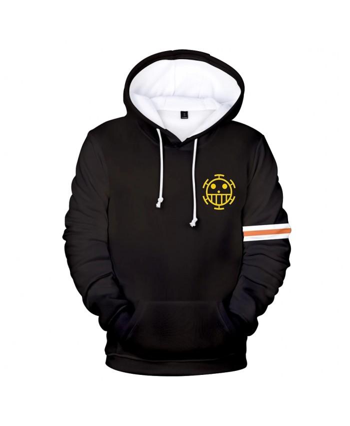 Black Hoodie print One Piece 3D Hoodies Men Women Sweatshirts Hooded Harajuku Kids pullovers Autumn Casual boys 3D Hoodies