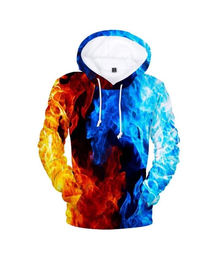 Hot Design 3D Fire Hoodies Men women Fashion Harajuku Hip Hop 3D Design Outwear Handsome Men's Hoodies and Sweatshirt Clothes