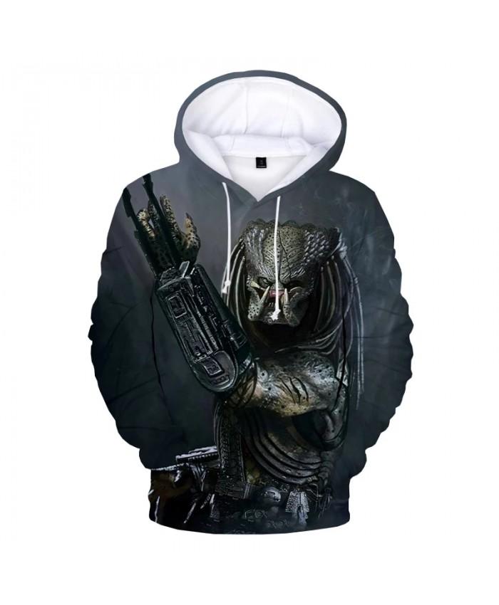 The Predator 3D Print Hoodie Sweatshirts Men Women Fashion Casual Oversized Pullover Unisex Long Sleeve Horror Movie Hoodies