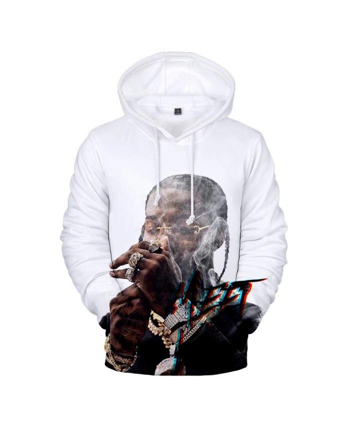New Pop Smoke Hoodies Men women 3D Print Hip Hop Harajuku High Quality Pop Smoke Men's Hoodies Sweatshirt