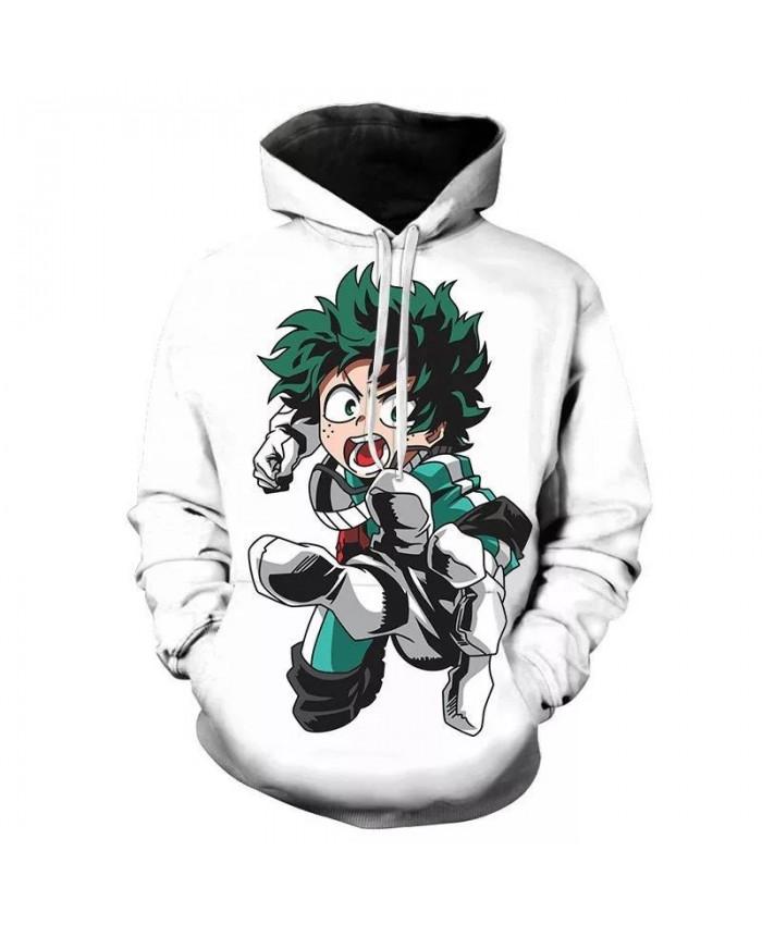 3D Printed Hoodies My Hero Academia Boku No Hero Academia Fashion Men Women Children Sweatshirts Pullovers Casual Jacket