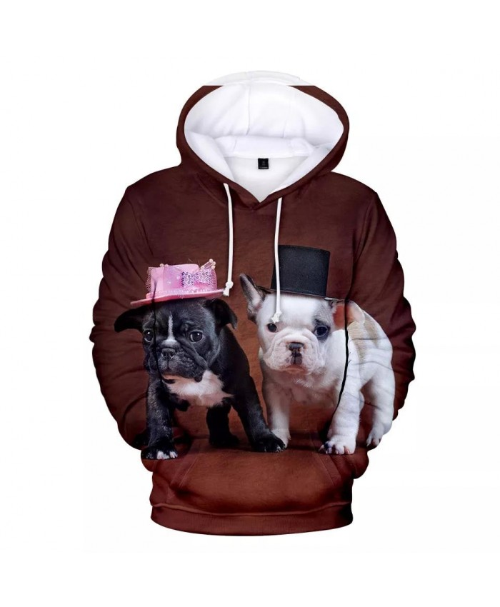 Hot New French Bulldog Hoodies Men women Fashion Hip Hop Harajuku 3D Print French Bulldog Men's Hoodies Sweatshirt Cute Dog