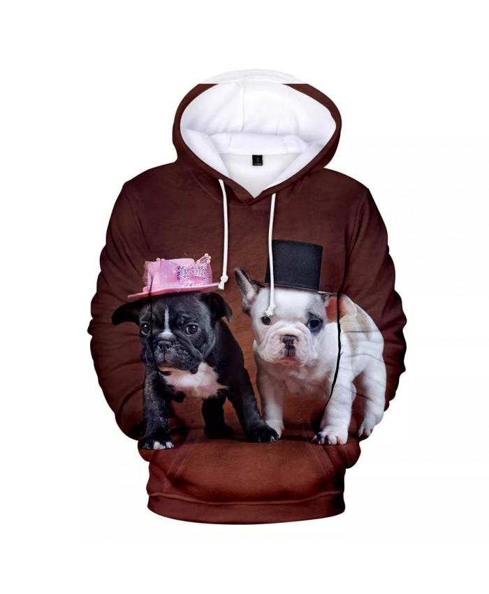 Hot New French Bulldog Hoodies Men women Fashion Hip Hop Harajuku 3D Print French Bulldog Men's Hoodies Sweatshirt Cute Dog