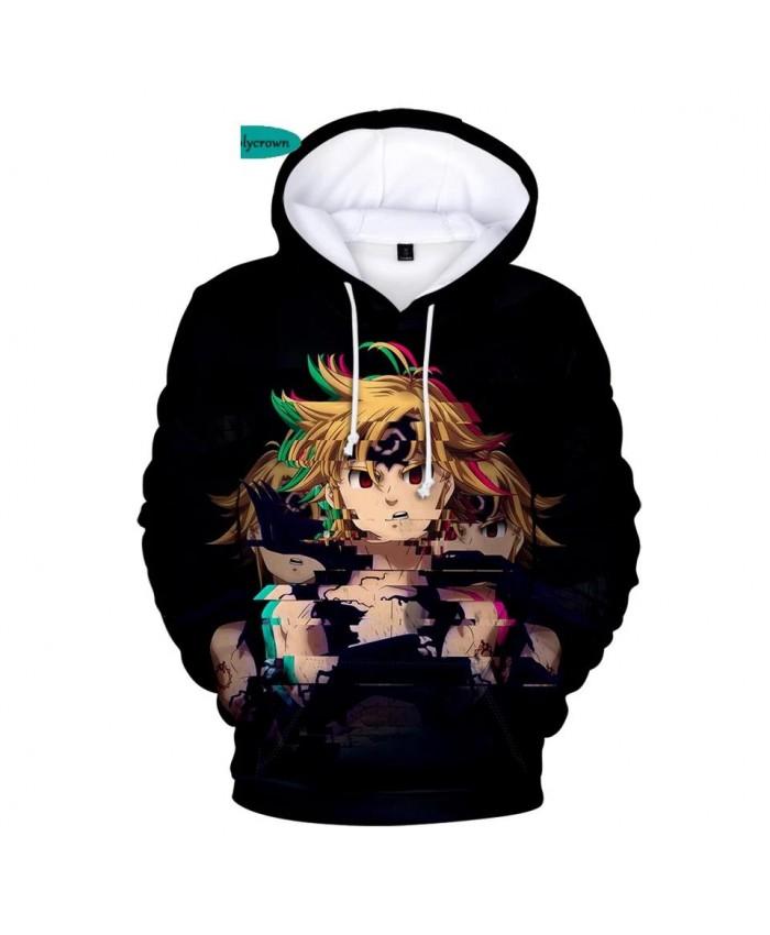 3D The Seven Deadly Sins Hoodies Men Sweatshirts Women Autumn Hip Hop Cartoon Kids Hoodie 3D Print Comic boys girls Pullovers