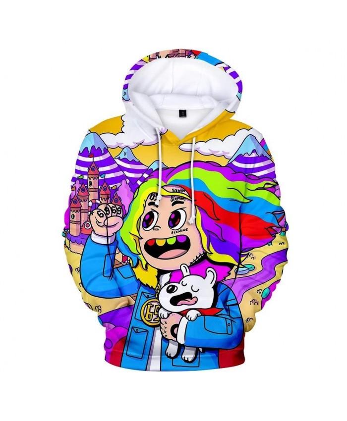 3D 6IX9INE Hoodies Boys Girls Sweatshirts Harajuku Autumn Kids Hooded New 3D print 6IX9INE Hoodie Men Women casual Pullovers