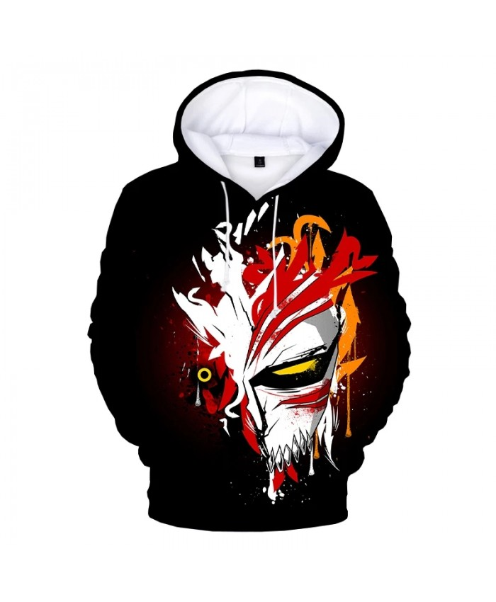 2021 New Bleach 3D Print Hoodie Sweatshirts Unisex Harajuku Streetwear Anime Hoodies Men Women Fashion Casual Cool Pullover