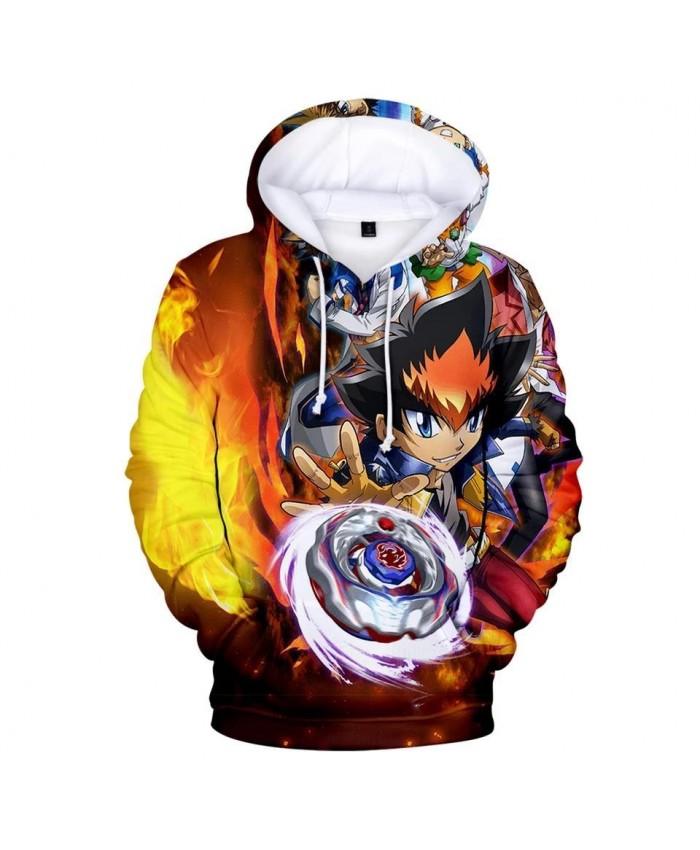 Printed Beyblade Burst Evolution 3D Hoodies men women casual sweatshirts Kids Hooded Fashion pullovers boys girls Pop 3D Hoodie